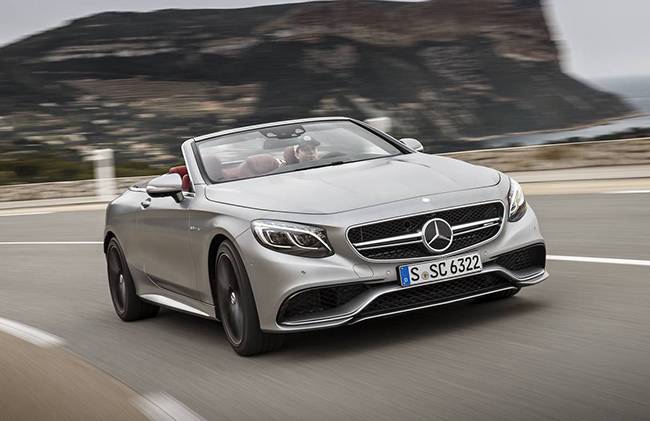 MERCEDES AMG S63 CABRIOLET, a convertible which keeps the german classic touch