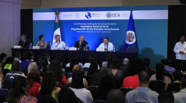 LA OEA NO ESCUCHA A VENEZUELA