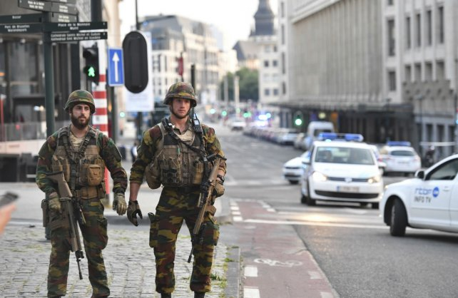 INTENTO DE ATAQUE TERRORISTA EN BRUSELAS FUE NEUTRALIZADO POR MILITARES BELGAS